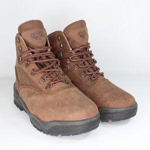 Vtg New Hi Tec Mens 10.5 Tacoma Hiking Boots Brown